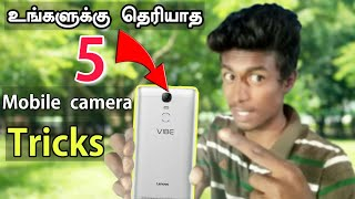 Top 5 mobile camera tricks in Tamil || Android tips and tricks || Box Tamil