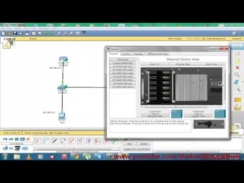 DNS Configure On Cisco Packet Tracer