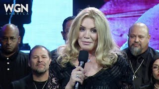 Shannon Tweed Speaks at Beth Chapman's Memorial Service