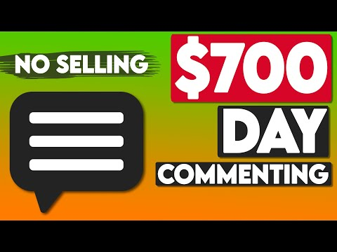 Earn $700/Day Commenting NO SELLING! (FREE) | Make Money Online
