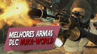 Fallout 4 : Nuka-World ► Melhores Armas da DLC (Aeternus, Pistola de Ácido, e outros )