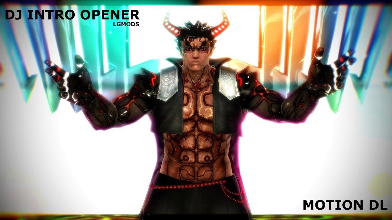 MMD DL] CREASURA : DJ INTRO OPENER (Handmade Motion