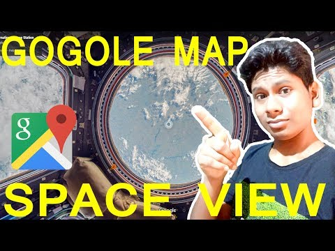 Google Map International Space Station View