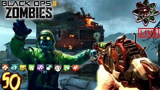 CRAZY NUKETOWN ZOMBIES ROUND 50 CHALLENGE! - BLACK OPS 2 ZOMBIES GAMEPLAY B02 w/Ch0pper