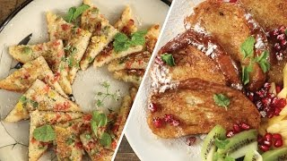 Sweet & Savory French Toast Recipe | Popular Breakfast Recipe | The Bombay Chef - Varun Inamdar