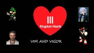 vim and vigor bosses for kingdom hearts 3