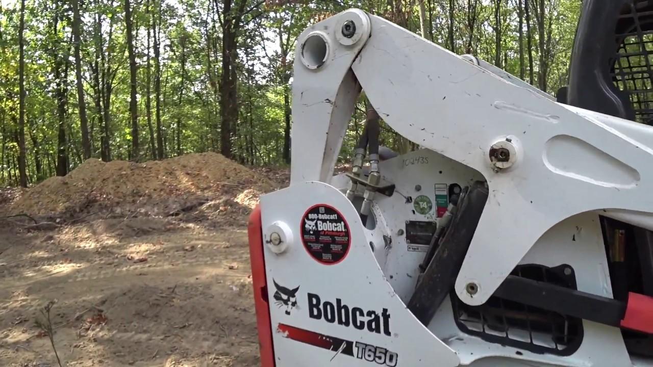 #73 Bobcat T650 Skid Loader Walkaround & Operation