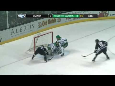 UND hockey - Highlights vs Omaha - 2/24/17