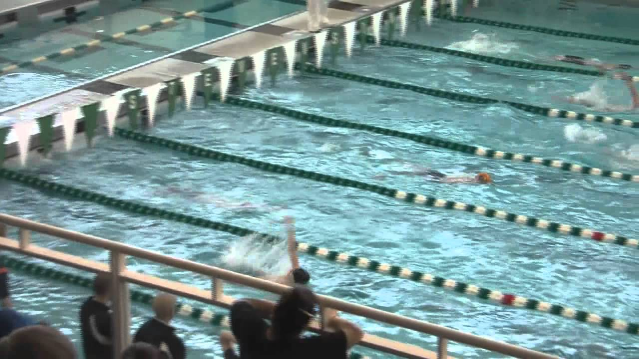 2012 Sectional Swim Meet Stevenson High School 200 Medley Josh Dedina Youtube