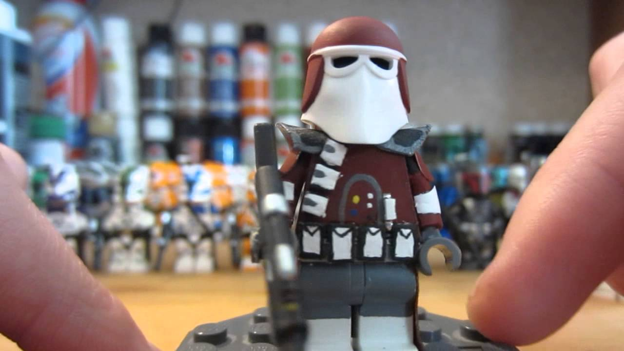 custom lego star wars galactic marine minifigure in hd - youtube