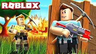 PLAYING ROBLOX WITH FORTNITE MOD IN AREA GAMEZ 2018 PART 2
