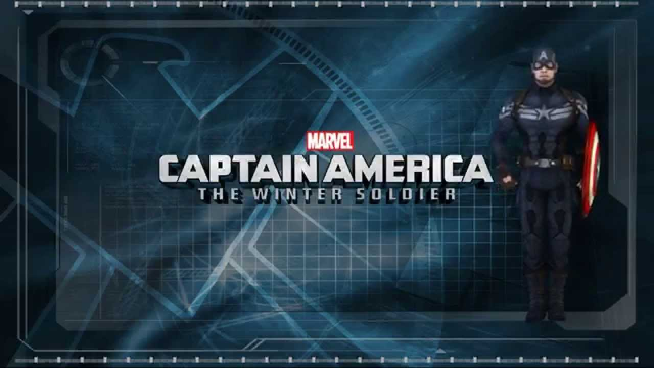 Android 3d Wallpaper Live Captain America The Winter Soldier Live Wallpaper Youtube