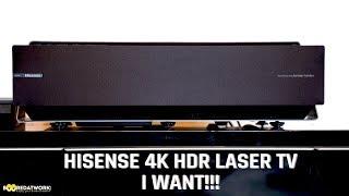 Hisense 4K HDR Laser TV: I WANT!!
