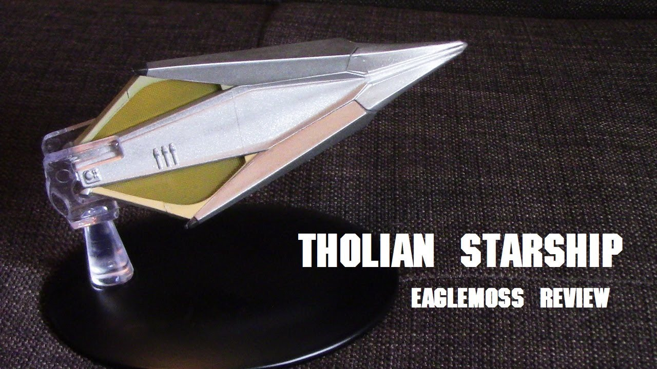 Tholian Starship Eaglemoss Review