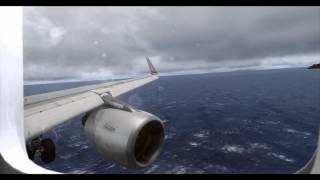 FSX | Airbus X Extended Landing @ FlyTampa Grenadines