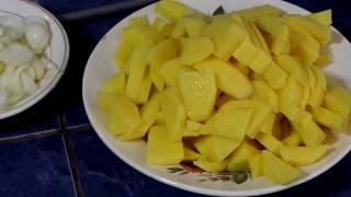 Жареный картофель по особому строительному рецепту