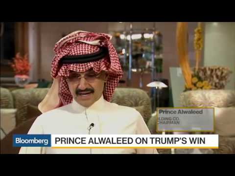 Prince Alwaleed  Willing to Live With Any Administration   Bloomberg