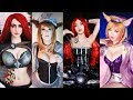 lol cosplay amazing Sexy beauty girl 롤 코스프레 섹시하고 이쁜 여자들모음