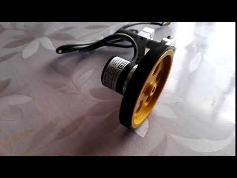 GHW38 Wheel Encoder Length Measuring Meter Counter Bracket