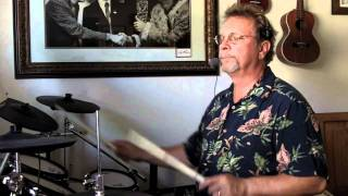 How to play the Texas Shuffle Drum set groove