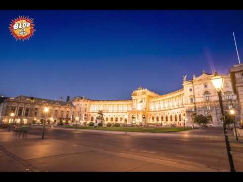 700 Years old Palace!! Hofburg in Vienna time lapse - 4K !