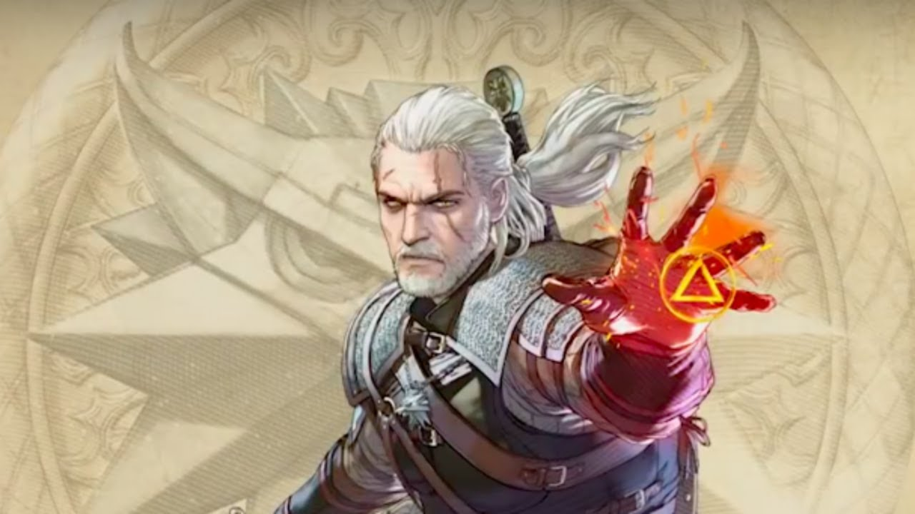 Soulcalibur 6 Official Geralt Of Rivia Character