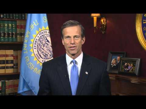 1/26/13 - Sen. John Thune (R-SD) Delivers Weekly GOP Address On Washington