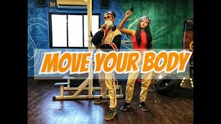 Move Your Body | Johnny Gaddaar | Hardkaur | Anny & Riya | Dance Choreography | RGFamily