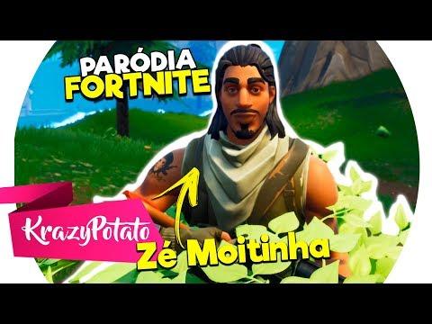 ♪ Zé Moitinha (Fortnite) - Paródia de Só Quer Vrau - MC MM