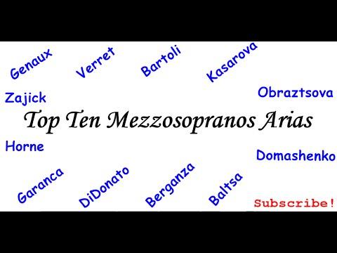 Top Ten Mezzosoprano Arias Vol. I - Greatest Opera Arias