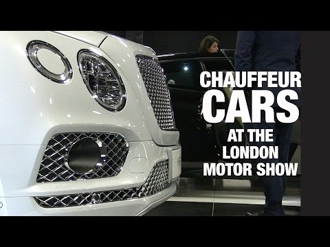 Chauffeur Cars of the London Motor Show 2017