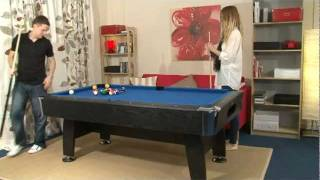 Www.madfun.co.uk - Bce / Riley - 7ft Black Cat Pool Table (hpt1-7)