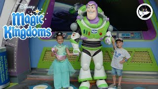 Disney World Magic Kingdom Buzz Lightyear Space Ranger Spin!!!