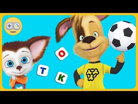 Барбоскины - Игры всей семьёй: Футбольный турнир, помой посуду, сложи слова на Kids PlayBox
