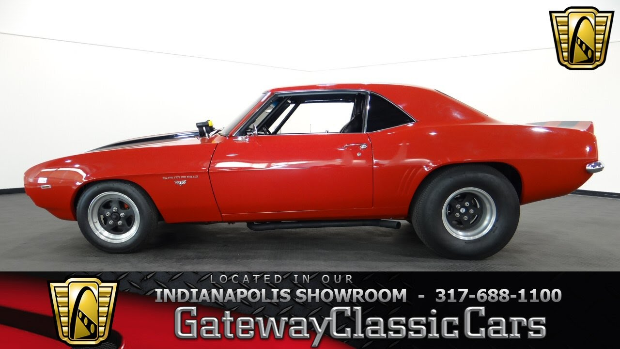 Cars For Sale Indianapolis >> 1969 Chevrolet Camaro - Gateway Classic Cars Indianapolis - #443NDY - YouTube