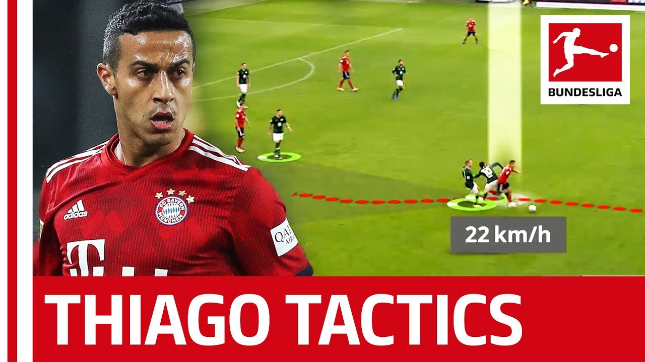 Thiago Tactics – Why the Spain International is so Valuable to Bayern