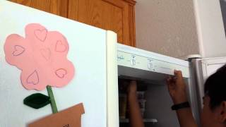 DIY replacing refrigerator light bulbs.