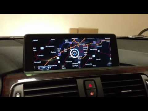 2014 bmw f30 i drive touch youtube. Black Bedroom Furniture Sets. Home Design Ideas