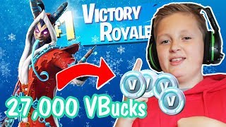 🎁Fortnite - 💰27000 V-Bucks🎄
