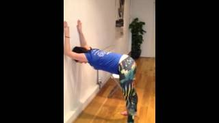 Neck and Shoulder Pain stretches by Bonny Lee Yoga