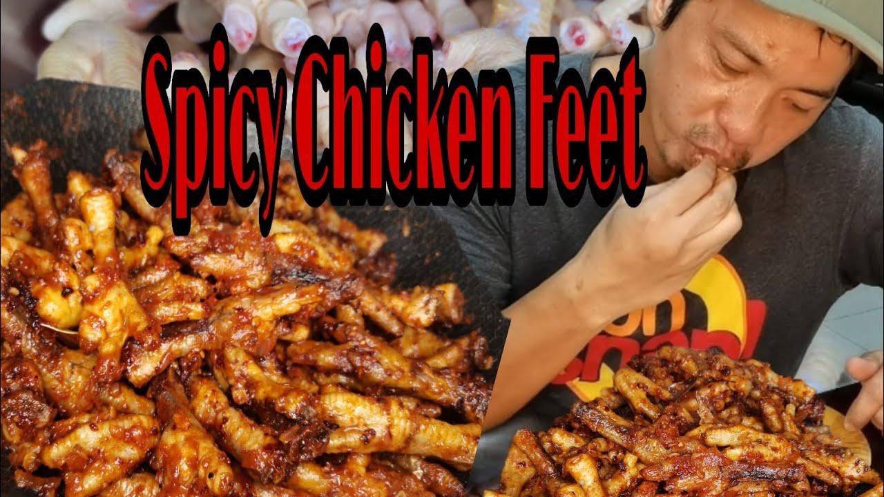 SPICY CHICKEN FEET I ASIAN FOOD