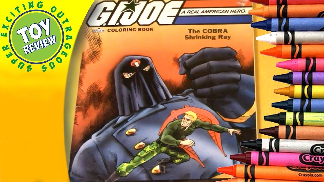 GI Joe The Cobra Shrinking Ray
