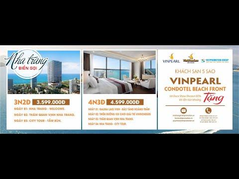 TOUR NHA TRANG BIỂN GỌI - VINPEARL BEACH FORNT CONDOTEL - VINWONDER