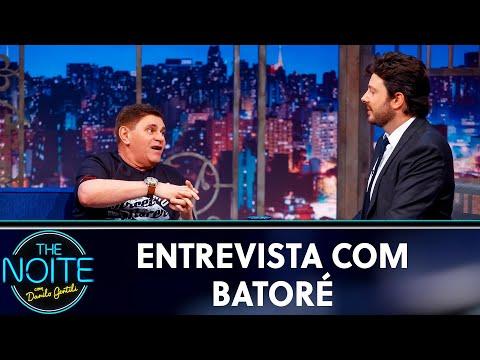 Entrevista com Batoré  The Noite 050919