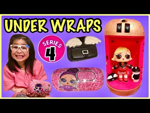 LOL Surprise UNDER WRAPS Unboxing | Meet The GLAM Club | Series 4 Big Sisters