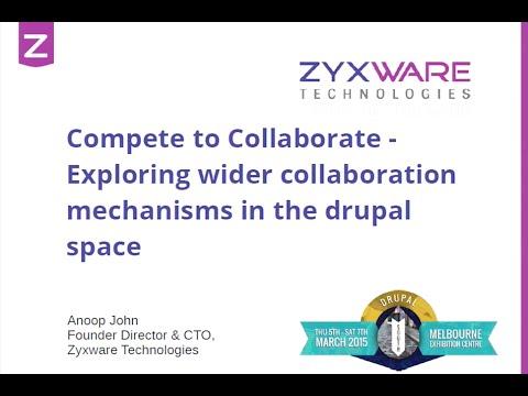 Compete to Collaborate - Exploring wider collaboration mechanisms in the Drupal space