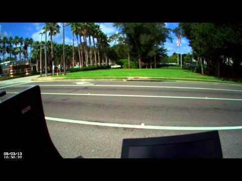 Original Video - George Zimmerman Caught Speeding In Lake Mary, Florida on FirstVu HD Body Cam