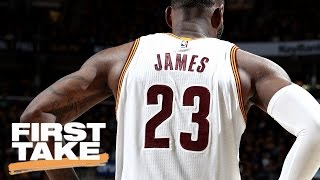Does LeBron James Deserve To Be MVP?   First Take   May 22, 2017