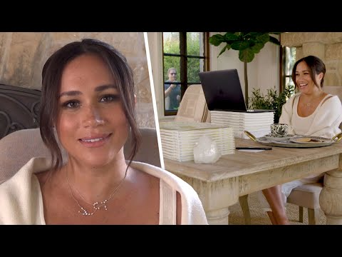 Prince Harry Makes HILARIOUS Cameo in Meghan Markles 40th Birthday Video