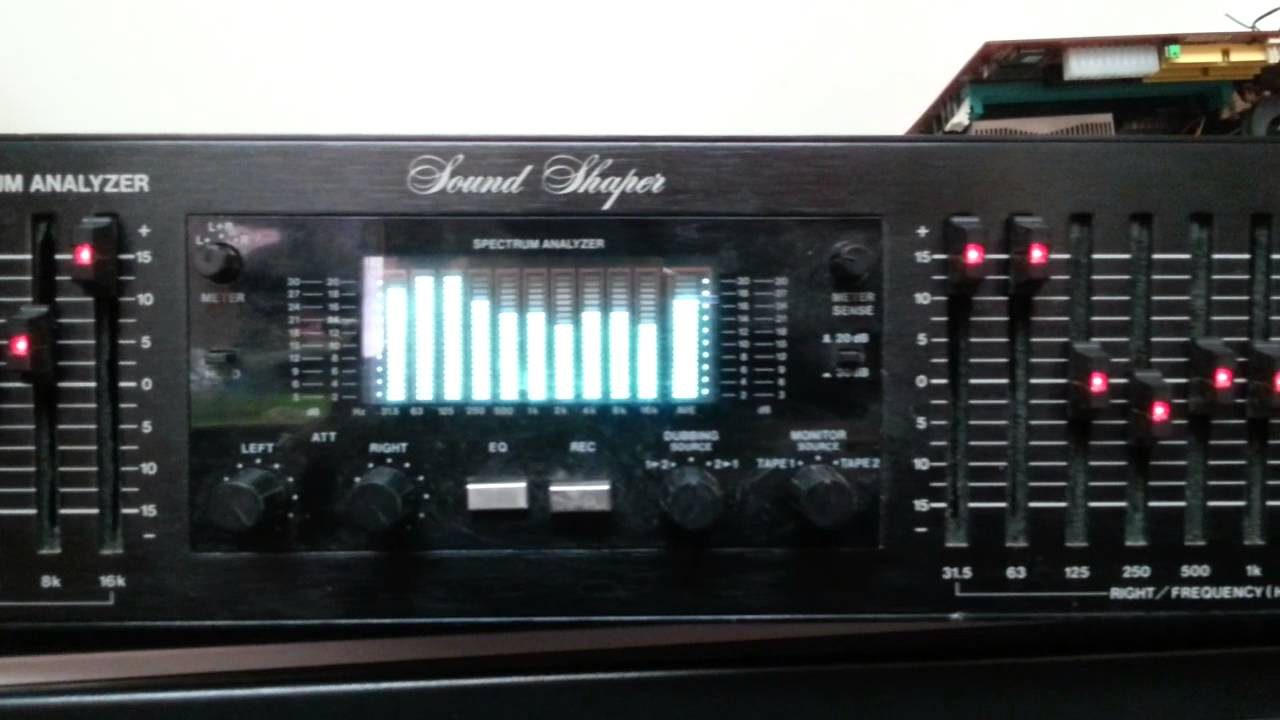 Stereo Graphic Equalizer : adc ss 315x stereo graphic equalizer real time spectrum analyzer youtube ~ Hamham.info Haus und Dekorationen